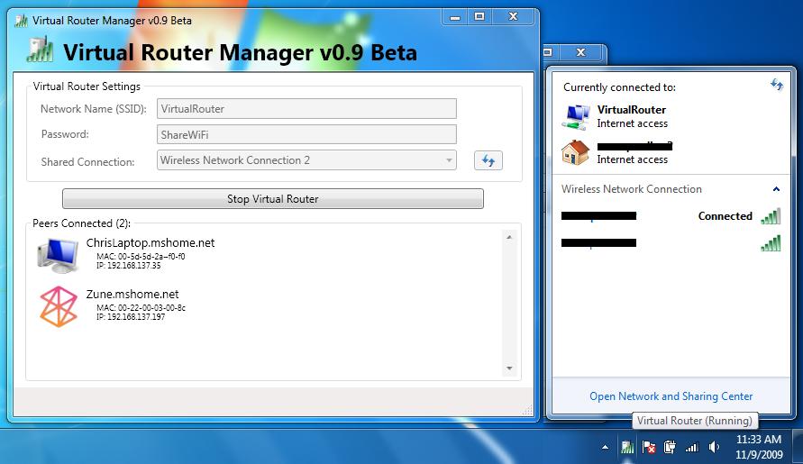 Скачать программу virtual router